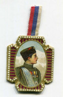 "WW1 - Insigne En Carton Avec Ruban D'origine ""Journée Serbe 25 Juin 1916"" French Medal WWI - 1914-18"