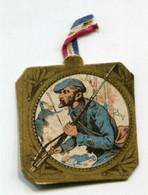 """WW1 - Insigne En Carton Avec Ruban D'origine """"Journée Du Poilu 31 Octobre/1er Novembre 1915"""" French Medal WWI - 1914-18"""