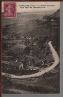 39 - CONLIÈGE - La Route De Briod Et La Ligne De Champagnole - Andere Gemeenten