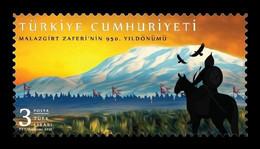Turkey 2021 Mih. 4667 Byzantine-Seljuq War. Battle Of Manzikert MNH ** - Neufs