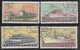 CZECHOSLOVAKIA - SHIPS - Boten