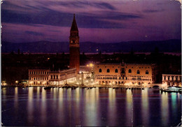 (3 A 21) Italy (posted To Australia) Venizia At Night - Venezia