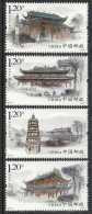 China 2013#22 SOUTH CHINA TEMPLE Stamp STRIP OF 4V - Ongebruikt