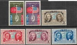 Turkey  1939  Constitution Set MLH  2016 Scott Value $9.50 - Ungebraucht