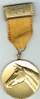 Luxembourg Médaille,Stud-Book Du Cheval De Sang. - Other