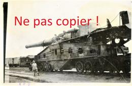 PHOTO FRANCAISE - ALVF - LE CANON DE 320 REINE ELISABETH - GUERRE 1914 1918 - 1914-18
