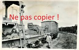 PHOTO FRANCAISE - ALVF - PLATEFORME A L'ARRIERE DU CANON DE 340 - GUERRE 1914 1918 - 1914-18