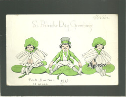 St Patrick's Day Greeting's  Saint Patrick édit. The Gibson Art Cie - Saint-Patrick's Day