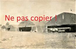 PHOTO FRANCAISE - LE TERRAIN D'AVIATION DE LE FRETOY ( FRESTOY ET VAUX ) PRES DE TRICOT OISE - GUERRE 1914 1918 - 1914-18