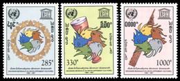 Laos 1991 - YT 1018A/C ; Mi# 1287/89 MNH International Decade For Cultural Development - Laos