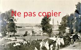 PETITE PHOTO FRANCAISE - LE BIVOUAC DE LA SMI A BLANZY LES FISMES PRES DE BAZOCHES SUR VESLES AISNE  GUERRE 1914 1918 - 1914-18