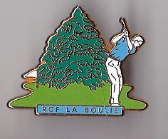PIN'S   THEME SPORT   GOLF DU RACING CLUB  LA BOULIE A JOUY EN JOSAS SIGNE DECAT - Golf