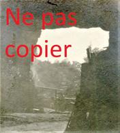 PETITE PHOTO FRANCAISE - LES GROTTES DE LEURY PRES DE CUFFIES - SOISSONS AISNE  GUERRE 1914 1918 - 1914-18