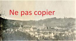 2 PETITES PHOTOS FRANCAISES - VUE GENERALE SUR CUFFIES PRES DE SOISSONS AISNE  GUERRE 1914 1918 - 1914-18
