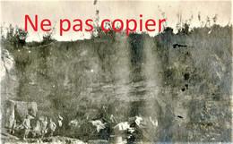 PETITE PHOTO FRANCAISE - GROTTES PC DU 99e RI A LAFFAUX PRES DE MARGIVAL AISNE  GUERRE 1914 1918 - 1914-18