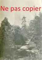 PETITE PHOTO FRANCAISE - L'OBSERVATOIRE TOPOGRAPHIQUE DE COMMENCHON PRES DE UGNY LE GAY AISNE -  GUERRE 1914 1918 - 1914-18