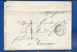 Lettre  De St ETIENNE Du 8 Mai 1847 à  Destination De  Terrinoire - 1801-1848: Voorlopers XIX