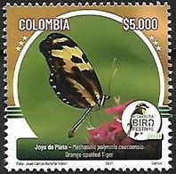 Colombia - MNH** 2021 : Mechanitis Polyminia Coucoensis - Farfalle