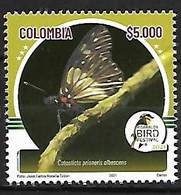 Colombia - MNH** 2021 : Cotasticta Prioneris Albescens - Farfalle