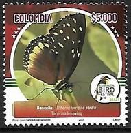 Colombia - MNH** 2021 : Tithorea Tarricina Parola - Farfalle