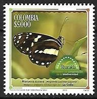 Colombia - MNH** 2021 : Megaleira Susianna Susianna - Farfalle