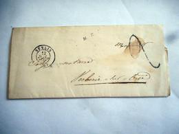 LAC 1840 SENLIS Pour VERBERIE SUR OISE TAXE 2 DECIMES - 1801-1848: Voorlopers XIX