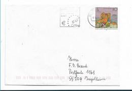 BDG099 / BRD - Ganzsache, 1000 Jahre Frankenhausen + Stempelwerbung Für Den Euro 2000 - 1998 - Umschläge - Gebraucht