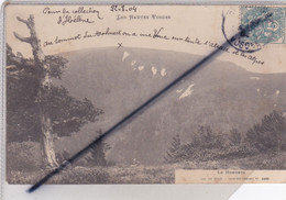 Le Hohneck (88) Vue Générale - Les Hautes Vosges (carte Précurseur De 1904) - Other Municipalities