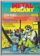METAL HURLANT N°121-122 Juillet-août 1986 Spécial Vacances Margerin, Jano, Landon-Clerc, Max, ... - Métal Hurlant