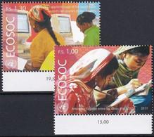 UNO GENF 2011 Mi-Nr. 772/73 ** MNH - Ungebraucht