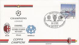 ALLEMAGNE FOOTBALL COUPE D'EUROPE 1993 FINALE MILAN-MARSEILLE - Championnat D'Europe (UEFA)