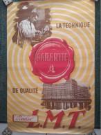 Affiche - Le Matériel Téléphonique - Radio L.M.T. - Années 1930 - - Telefonia