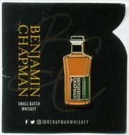 Pin's Boisson Alcool Whisky Whiskey Benjamin Chapman - Bevande