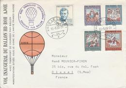 SUISSE VOL INAUGURAL DU BALLON HB-BOH 1966 - Andere (Lucht)