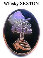 Pin's Boisson Alcool Whisky Whiskey SEXTON Skull - Bevande