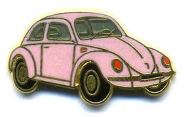 Pin's Auto Car Coccinelle Volkswagen WW Ballard - Volkswagen