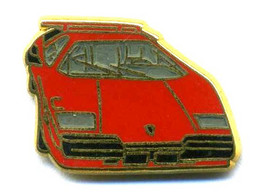 Pin's Auto Car Lamborghini Countach Ballard - Ferrari
