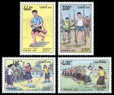 Laos 1992 - YT 1051/54 ; Mi# 1329/32 MNH International Children's Day - Laos