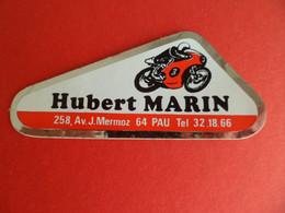 Autocollant Motorcycles Moto Hubert MARIN - PAU - Pyrénées Atlantiques - Autocollants