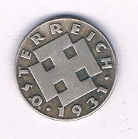 5 GROSCHEN 1931  OOSTENRIJK 7395/ - Austria