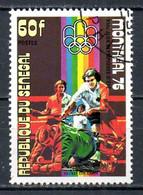 SENEGAL. N°441 Oblitéré De 1976. Hockey Sur Gazon Aux J.O. De Montréal. - Hockey (Field)