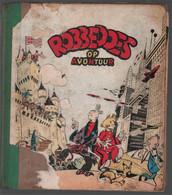 Dupuis Robbedoes En Kwabbernoot : Robbedoes Op Avontuur {Jijé [=Gillain (Joseph)]} 1949 - Robbedoes En Kwabbernoot