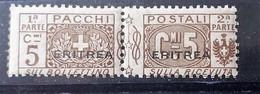 ITALIA COLONIE ERITREA 1915 PACCHI POSTALI NUOVO MNH** - Eritrea