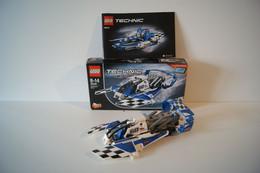 LEGO TECHNIC 42045 L'Hydravion De Course Hydroplane Racer  Complet Avec Boite Et Notice - Lego Technic