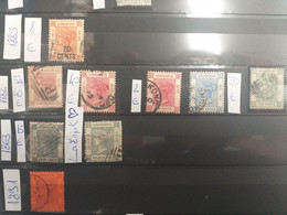 Hong Kong Commonwelt Lot Used Stamps 1885 - 1899 SG 40  SG 32 33 35 37 9 And SG 9 Spiro - Gebruikt