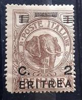 ITALIA COLONIE ERITREA 1922 SOPRASTAMPATO  NUOVO MNH** - Eritrea