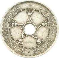 Belgian Congo (Colony) - Albert I, 5 Centimes 1919, Birmingham, England, Wiener (A1532) - 1910-1934: Albert I