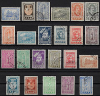 """GREECE 1947-51, """"DODECANESE"""", The 20th Century Largest Greek Set, Complete, Used, Excellent Condition - Used Stamps"""