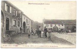 88 Neuvillers Sur Fave - Le Centre - Sur La Route De St Dié Au Code Saales - Other Municipalities