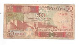 *somalia 50 Shilin 1989  34 - Somalia